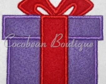 embroidery applique present