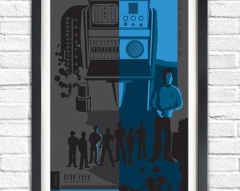 The Original Star Trek Series - Dr. Leonard 'Bones' Mccoy - 19x13 Poster