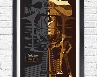 The Dark Tower - Eddie Dean - 19x13 Poster