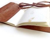 Handmade Leather Journal Diary Notebook Sketchbook Book Handmade Paper
