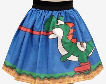 Yoshi Inspired Full Skirt