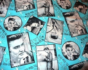 2 yards of Elvis in the 50's by Cranston
