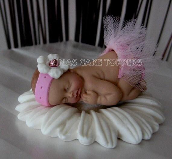 items similar to tutu baby cake topper baby shower 1st birthday