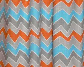 Popular items for chevron curtains on Etsy