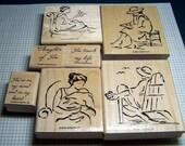 Favorite SKETCHES stamp set