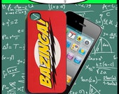iPhone 4 Case - Bazinga  Big Bang Theory New Plastic Fitted Case For iPhone 4 & iPhone 4S