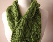 Green Chunky Cowl Pattern