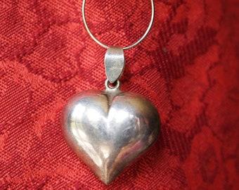 Lovely Vintage Heart Charm