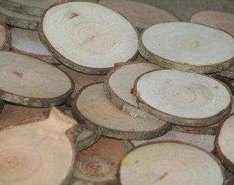 Rustic Wood Disc Dried Tree Slices Medium 15 Cherry Tree Cookies Wood Blanks Wood Burning Blanks Name Tags Wedding Decor Art Craft Blanks