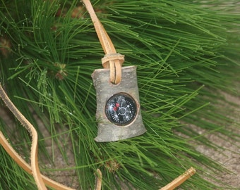 Directional Compass Boy Scout, Pocket Compass, Knecklace Compass, Camper Hiker Made In Michigan Bulk Orders Welcome