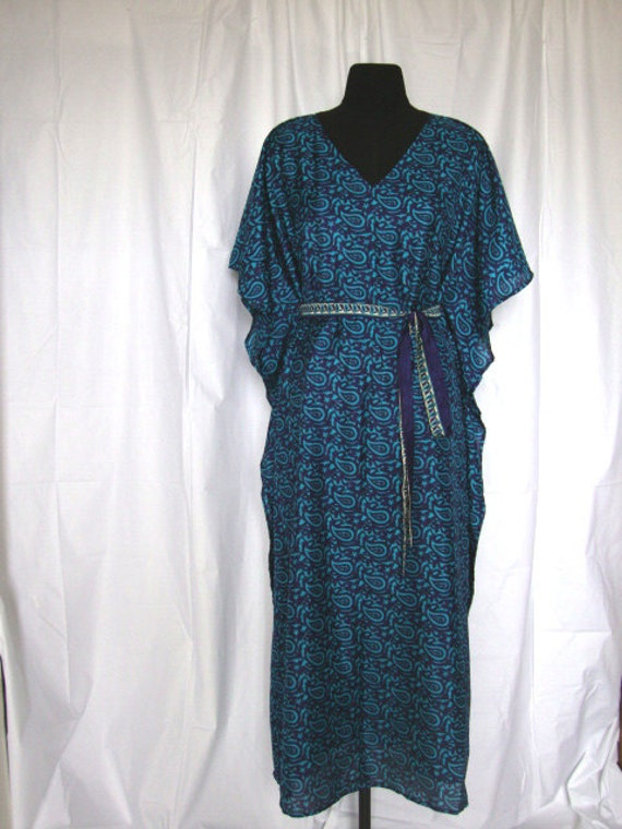 long Kaftan caftan maxi dress beach wear loungewear