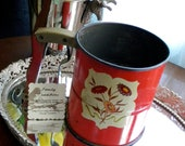Vintage Androck Hand-i-Sift 1940's flour sifter