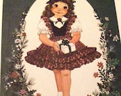 McCall's Little Darlings Pattern--Adorable- Girls - 4-5-6-Excellent Condition-Holiday Pattern