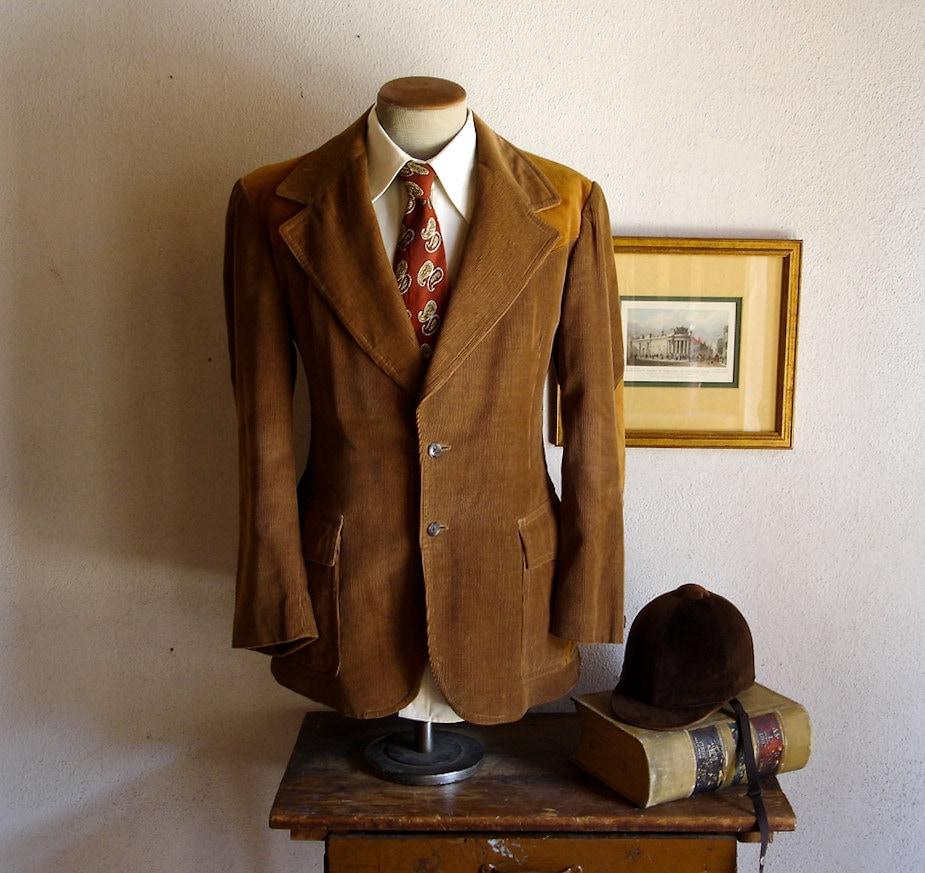 Mens Suede Sport Coat Blazer - Sm Coats