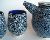 Teapot Set with Unique Textured Glaze