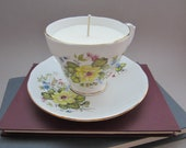 Rhona Duchess Teacup Candle with Soy Wax