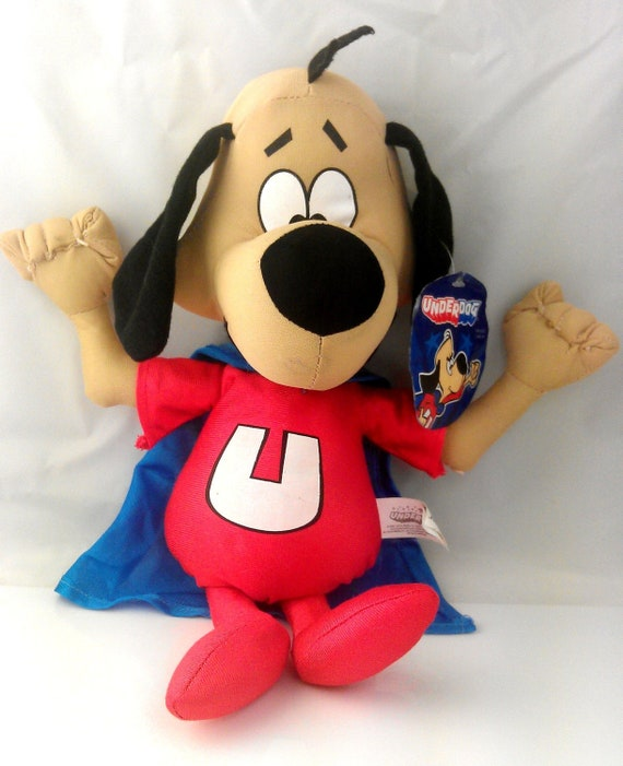 Underdog Plush With Tags Shoeshine Boy Toy By