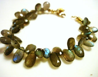 Faceted Labradorite Bracelet Best of the Best