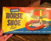 Vintage Horse Shoe Set by Auburn