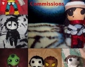 Pluffy Stuffies: Custom felt plushies made to order