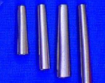 "100 Tin  3/4"" Metal Cone  Cones  Craft  Supplies Regalia Pow Wow"