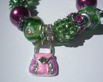 Handbag Adornment Charm Bracelet