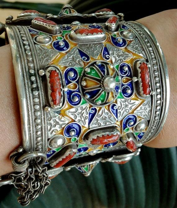 Vintage Berber Warrior Bracelet