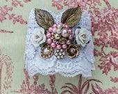 Cuff Bracelet, Lace Jewelry, Lace Cuff, Victorian Bracelet, Lace Jewelry, Victorian Jewelry