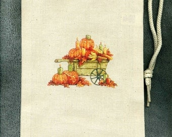 Thanksgiving Harvest New Cloth Wine Spirits Tote Bag, Gift Idea, Parties
