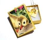 The Fuzzy Duckling 1982 Pendant Necklace