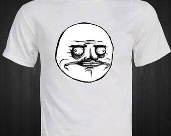 Me Gusta Rage Comic T-shirt