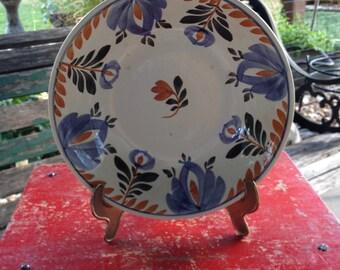 Vintage Maestricht Societe Ceramique Bowl....Beautiful...Dutch Ceramic