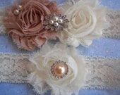 Wedding Garter ,Bridal Garter,Toss Garter , Bridal Accessories,Something Blue  Wedding garter