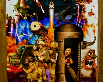 "Metal Slug 3 18 x 24"" Video Game Poster"