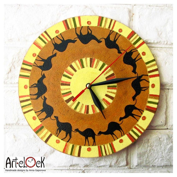 The Camelcade Wall Clock, Home Decor