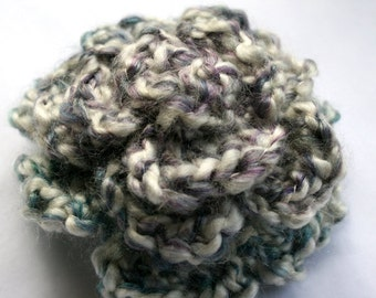 Lovely Crocheted Rose Pin