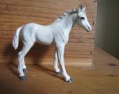 SALE Lefton White and Gray Colt Figurine