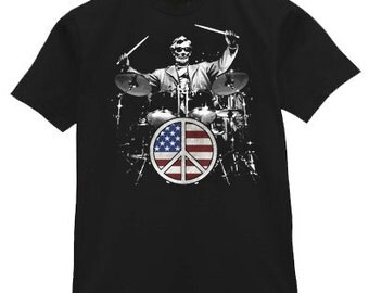 Abraham Lincoln Drum Kit  T-shirt