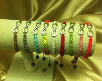 """Pick A Color Infinity """"& Beyond"""" Bracelet"""