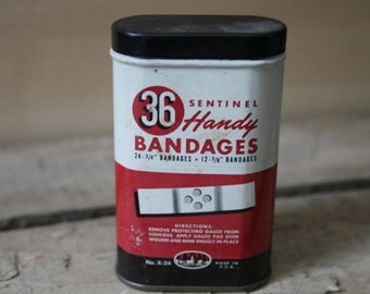 Sentinel Handy Bandages Tin