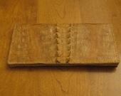 Genuine Crocodile skin Wallet-Vintage