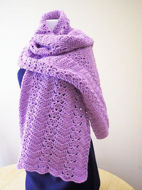 Crochet Prayer Shawl by hendersonmemories on Etsy