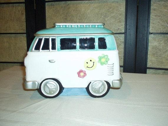 VW Volkswagen Hippie Cookie Jar