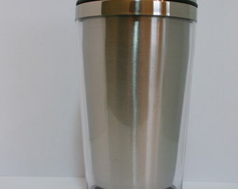 5 Insulated Photo Insertable Hot / Cold Travel Mug Tumbler 16oz