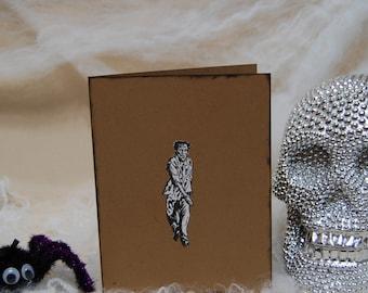 HALLOWEEN Zombie Card