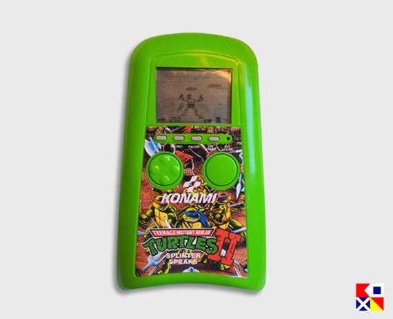 80's Vintage Teenage Mutant Ninja Turtles II Handheld Video Game