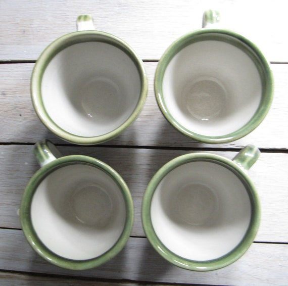 vintage john taylor mugs - set of four