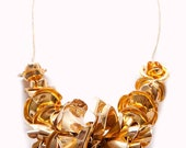 Stewn Rose Necklace