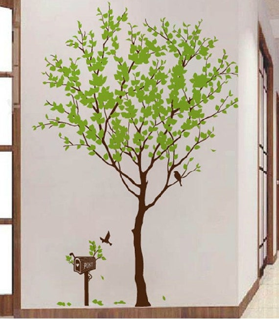 Tree wall decal wall stickers nursery wall by ChinStudio on Etsy