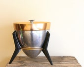 RESERVED - Vintage Space Age Atomic Ice Bucket